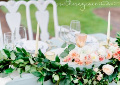 Detail table arrangements